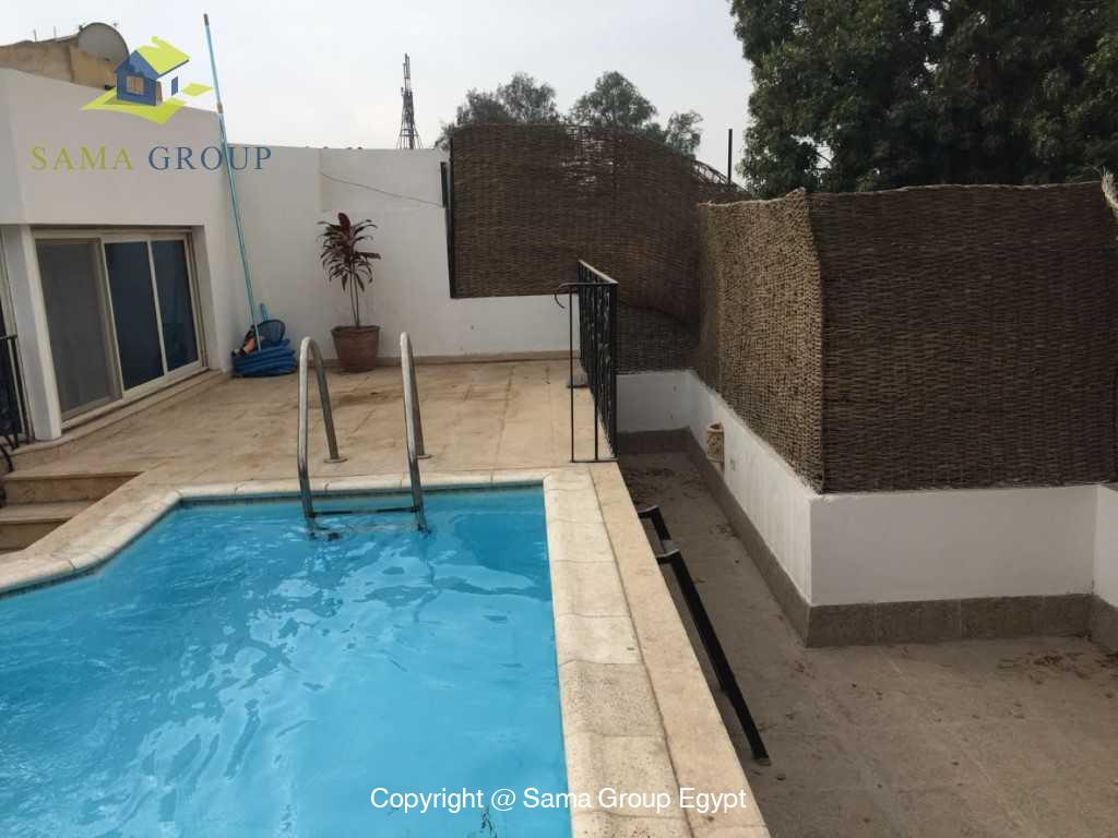 Penthouse with Swimming Pool For Sale In Maadi,Semi furnished,Penthouse NO #1