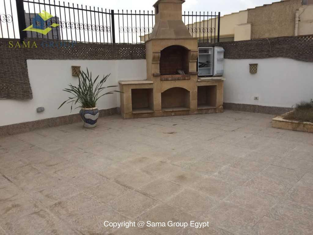 Penthouse with Swimming Pool For Sale In Maadi,Semi furnished,Penthouse NO #26