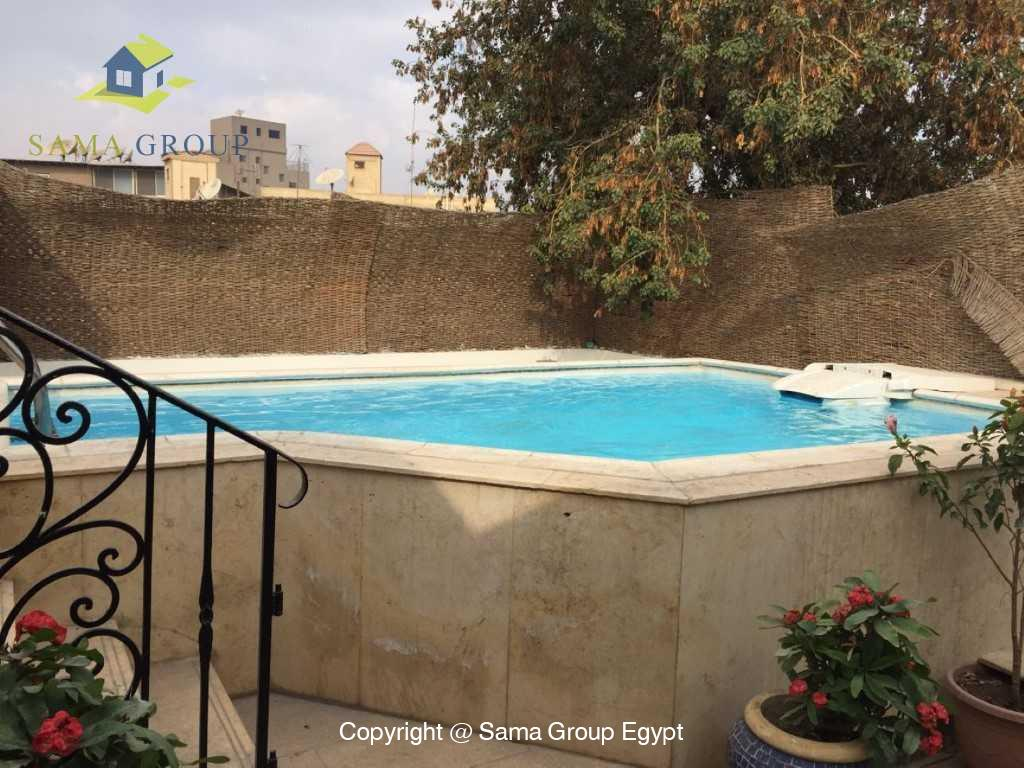 Penthouse with Swimming Pool For Sale In Maadi,Semi furnished,Penthouse NO #3