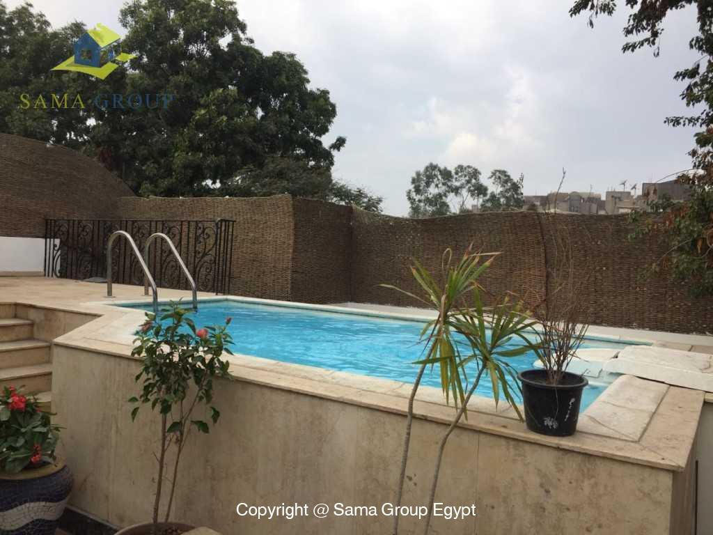 Penthouse with Swimming Pool For Sale In Maadi,Semi furnished,Penthouse NO #5