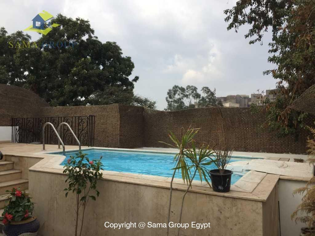 Penthouse with Swimming Pool For Sale In Maadi,Semi furnished,Penthouse NO #10