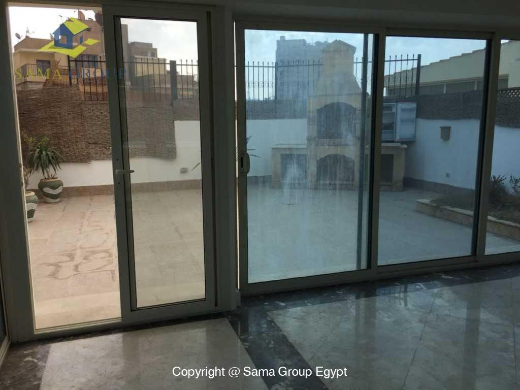 Penthouse with Swimming Pool For Sale In Maadi,Semi furnished,Penthouse NO #16