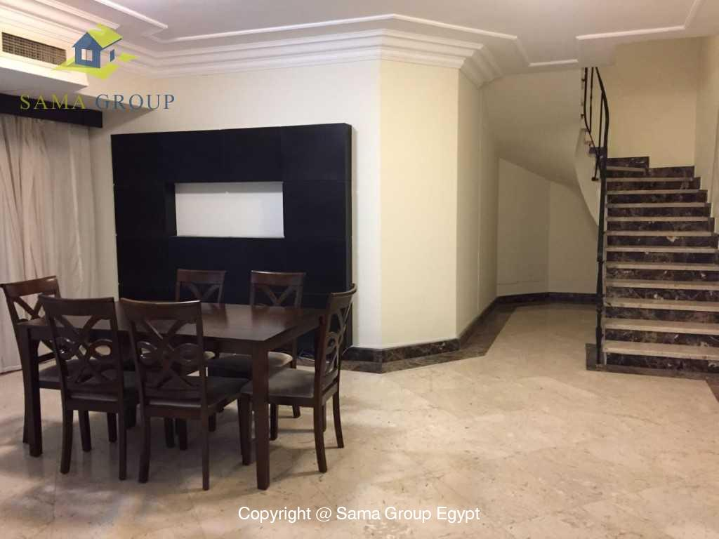 Ground Floor Duplex With Pool For Sale In Maadi,Semi furnished,Ground Floor - duplex NO #18