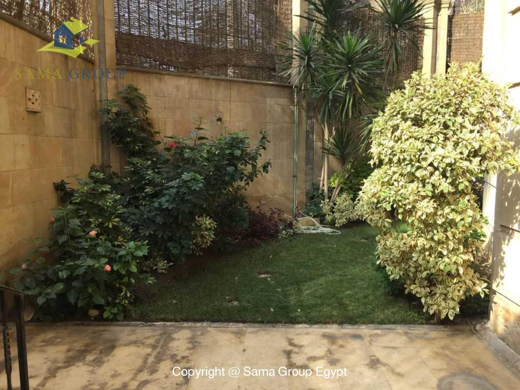Ground Floor Duplex With Pool For Sale In Maadi,Semi furnished,Ground Floor - duplex NO #19