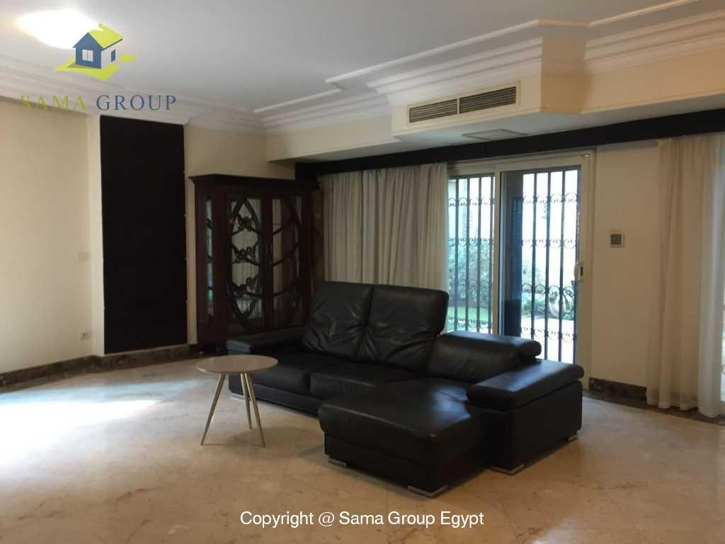 Ground Floor Duplex With Pool For Sale In Maadi,Semi furnished,Ground Floor - duplex NO #20