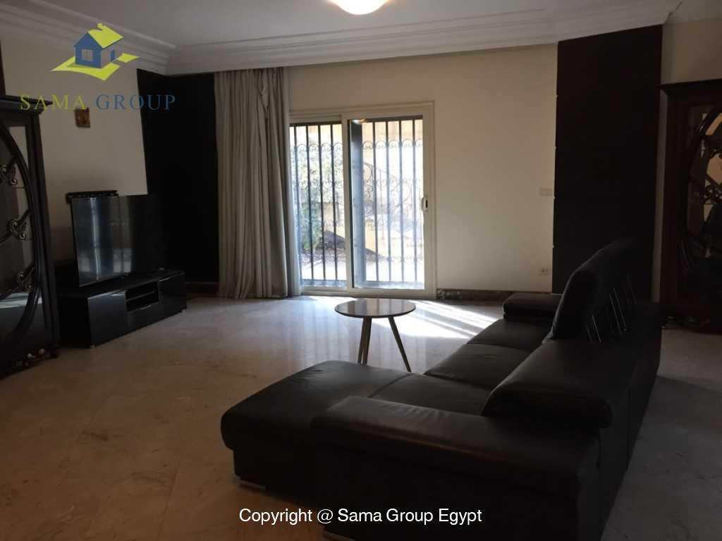 Ground Floor Duplex With Pool For Sale In Maadi,Semi furnished,Ground Floor - duplex NO #21