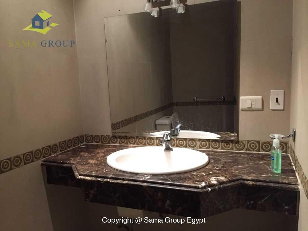 Ground Floor Duplex With Pool For Sale In Maadi,Semi furnished,Ground Floor - duplex NO #22