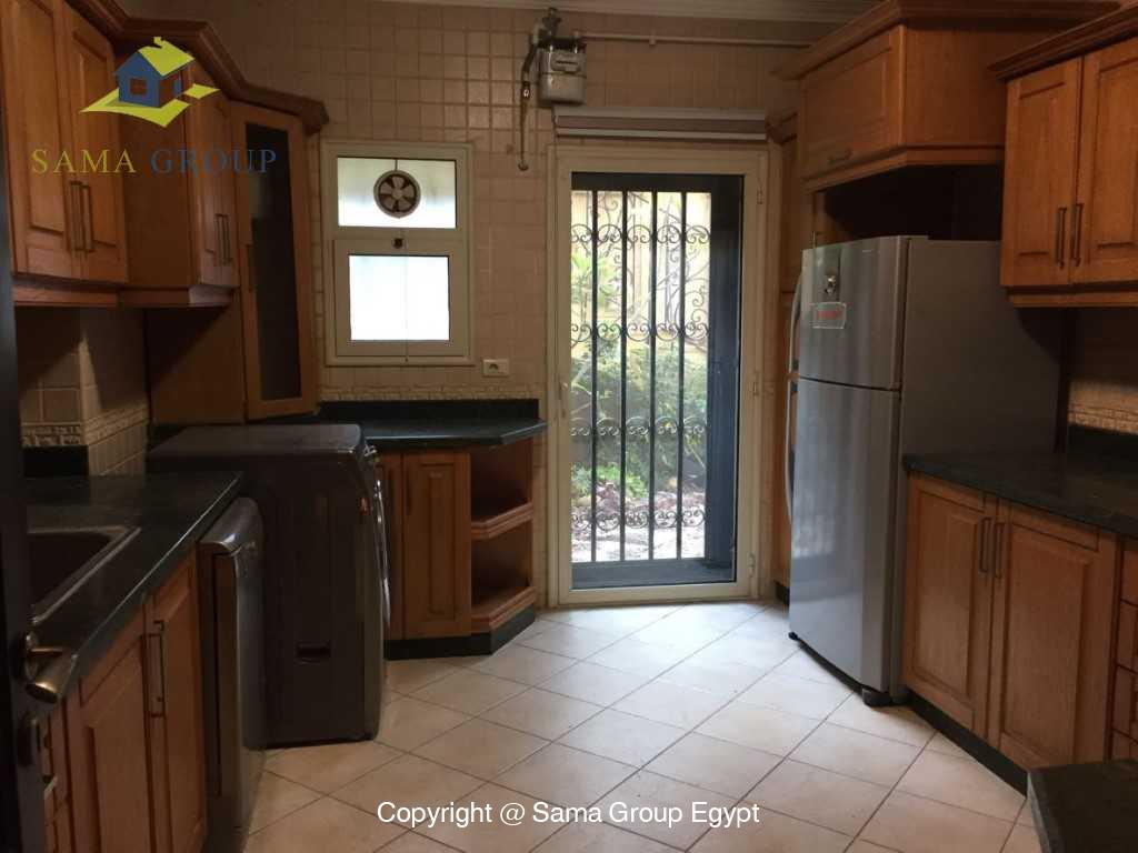 Ground Floor Duplex With Pool For Sale In Maadi,Semi furnished,Ground Floor - duplex NO #26