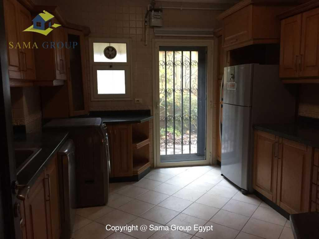 Ground Floor Duplex With Pool For Sale In Maadi,Semi furnished,Ground Floor - duplex NO #15