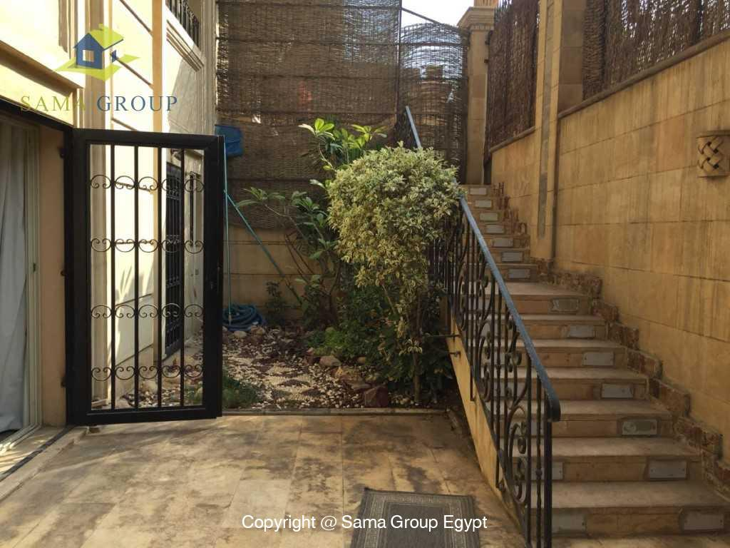 Ground Floor Duplex With Pool For Sale In Maadi,Semi furnished,Ground Floor - duplex NO #4