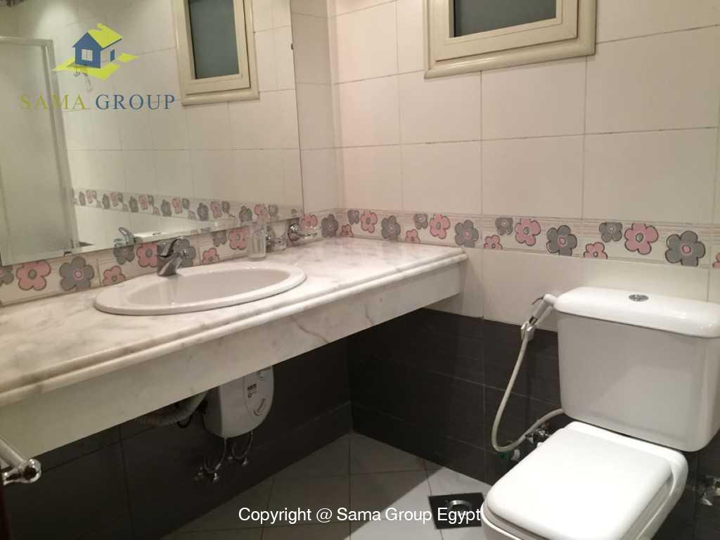 Ground Floor Duplex With Pool For Sale In Maadi,Semi furnished,Ground Floor - duplex NO #7