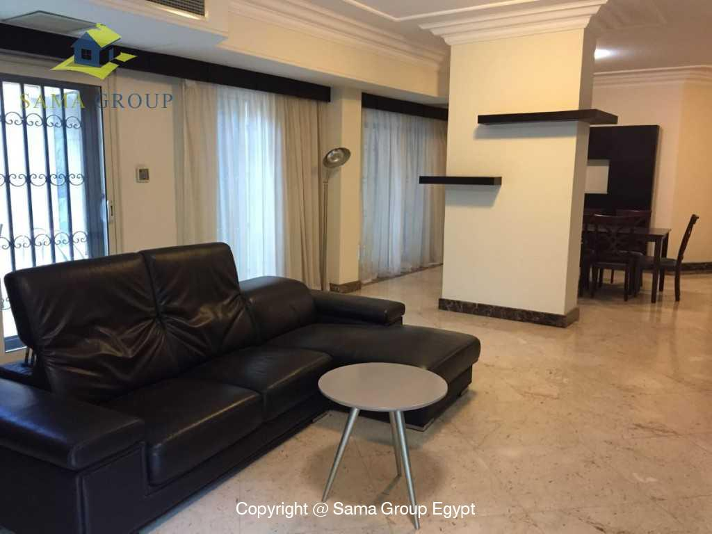 Ground Floor Duplex With Pool For Sale In Maadi,Semi furnished,Ground Floor - duplex NO #8