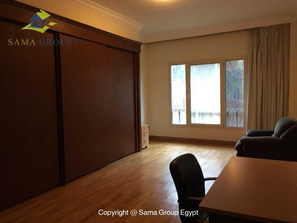 Ground Floor Duplex With Pool For Sale In Maadi,Semi furnished,Ground Floor - duplex NO #9