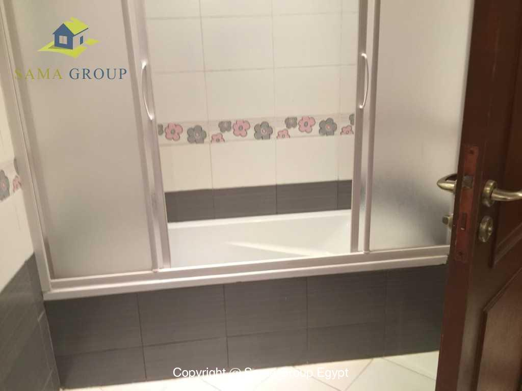 Ground Floor Duplex With Pool For Sale In Maadi,Semi furnished,Ground Floor - duplex NO #11