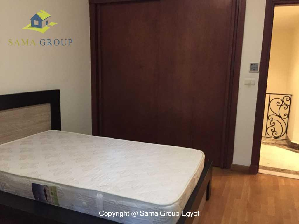 Ground Floor Duplex With Pool For Sale In Maadi,Semi furnished,Ground Floor - duplex NO #30