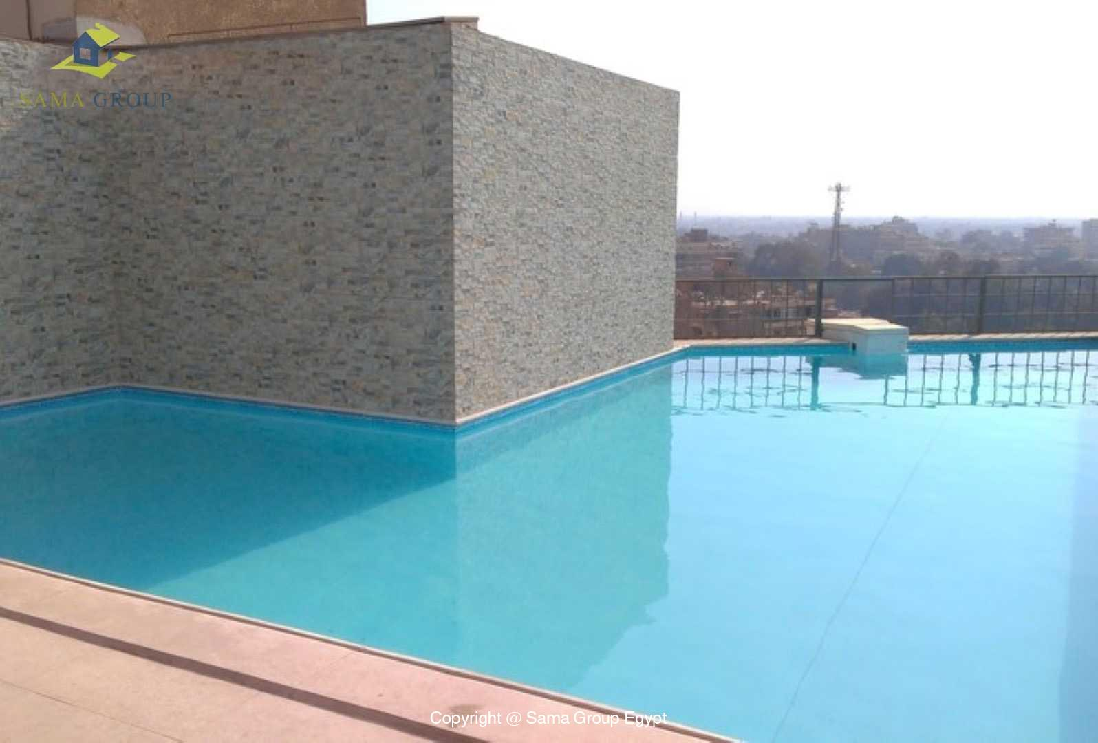 Apartment with Pool For Sale In Maadi Sarayat,Modern Furnished,Apartment NO #1