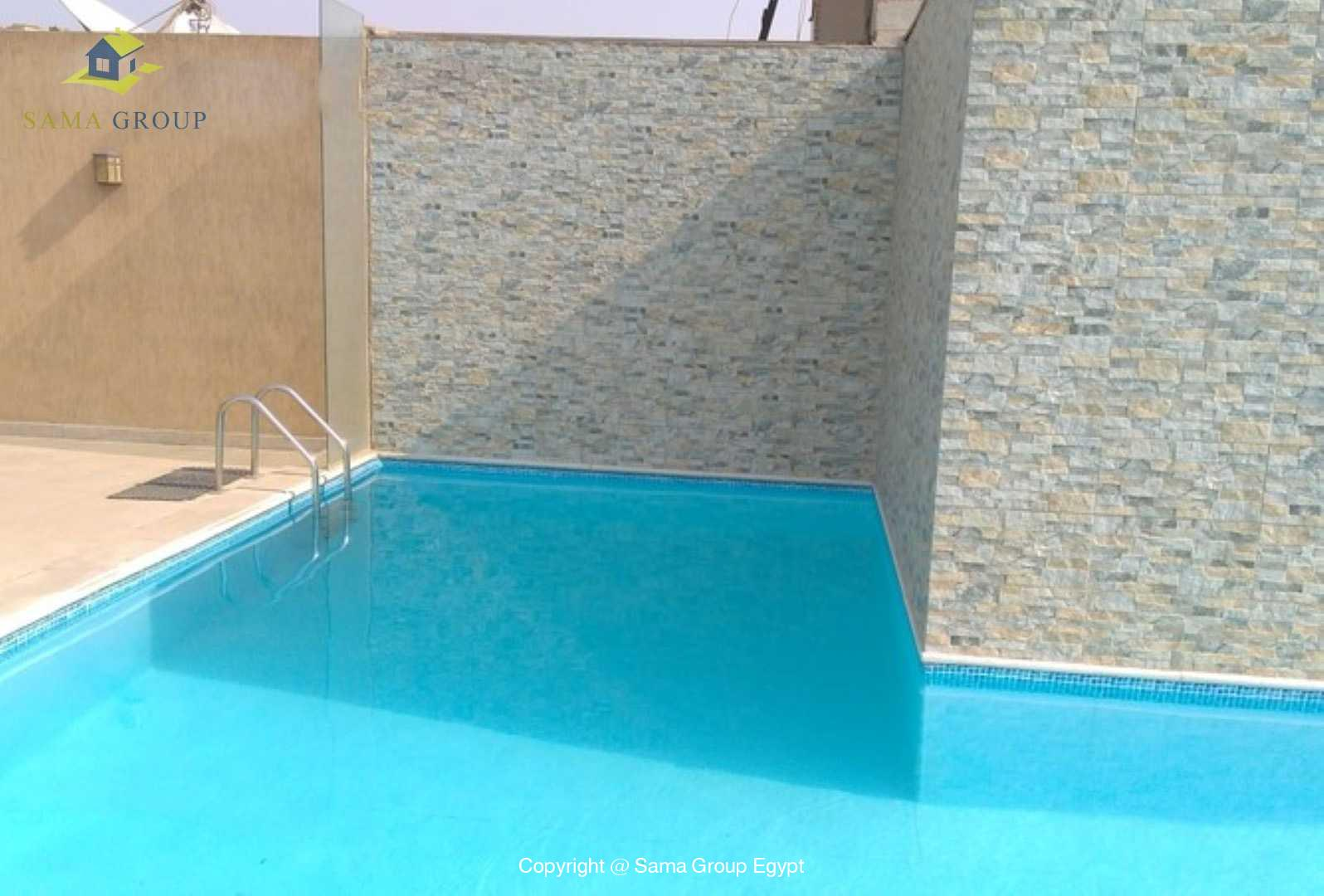 Apartment with Pool For Sale In Maadi Sarayat,Modern Furnished,Apartment NO #3