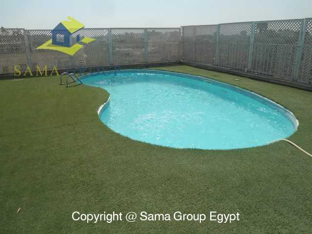 Penthouse Triplex with Swimming Pool For Rent In Maadi,Semi furnished,Penthouse NO #1
