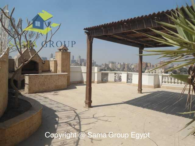 Penthouse Triplex with Swimming Pool For Rent In Maadi,Semi furnished,Penthouse NO #9