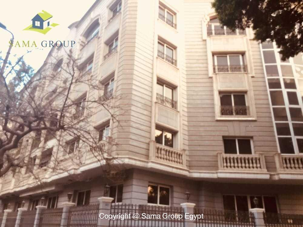 Office Adminstration Building For Rent In Maadi,Semi furnished,Office Adminstration Building NO #2