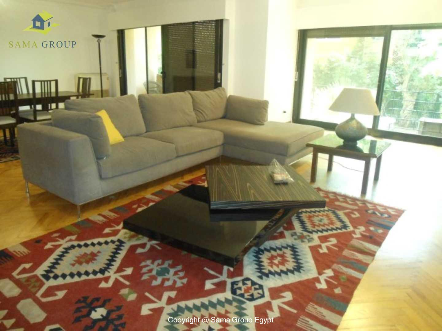 Ground Floor With Garden For Rent In Maadi,Modern Furnished,Ground Floor NO #10