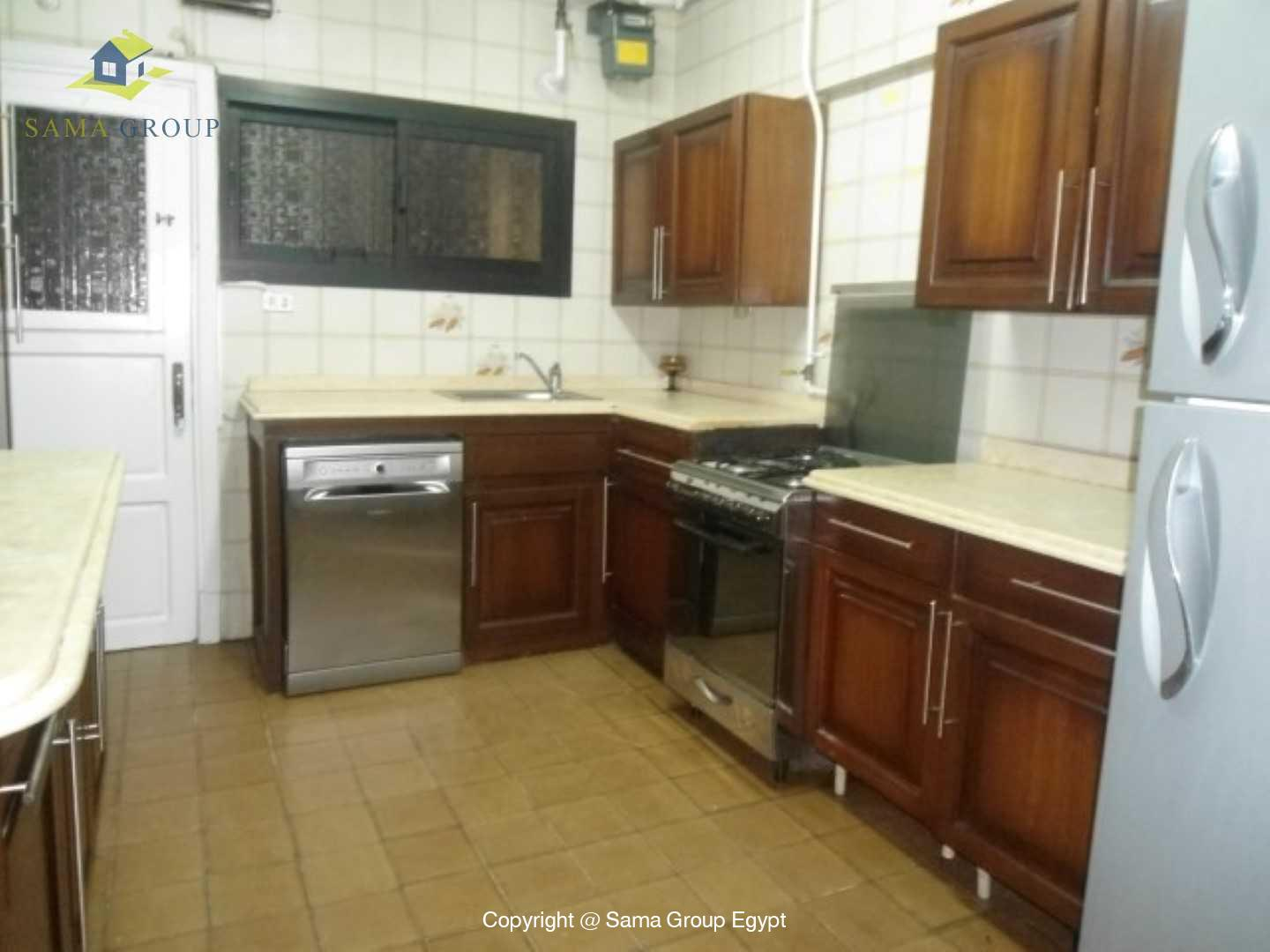 Ground Floor With Garden For Rent In Maadi,Modern Furnished,Ground Floor NO #11