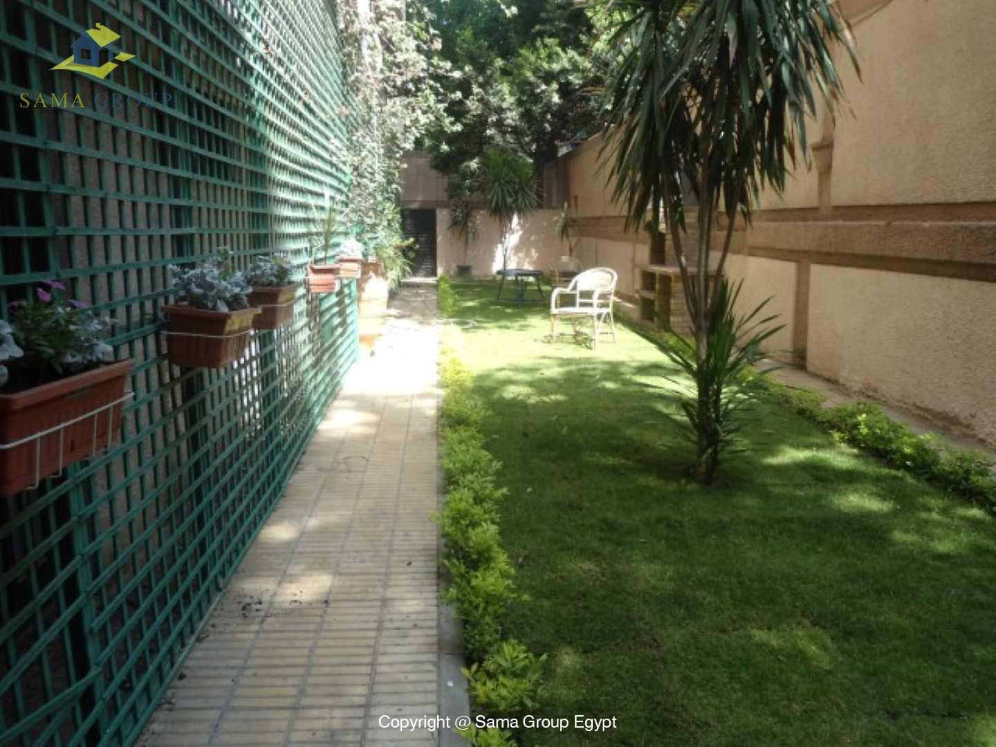 Ground Floor With Garden For Rent In Maadi,Modern Furnished,Ground Floor NO #3