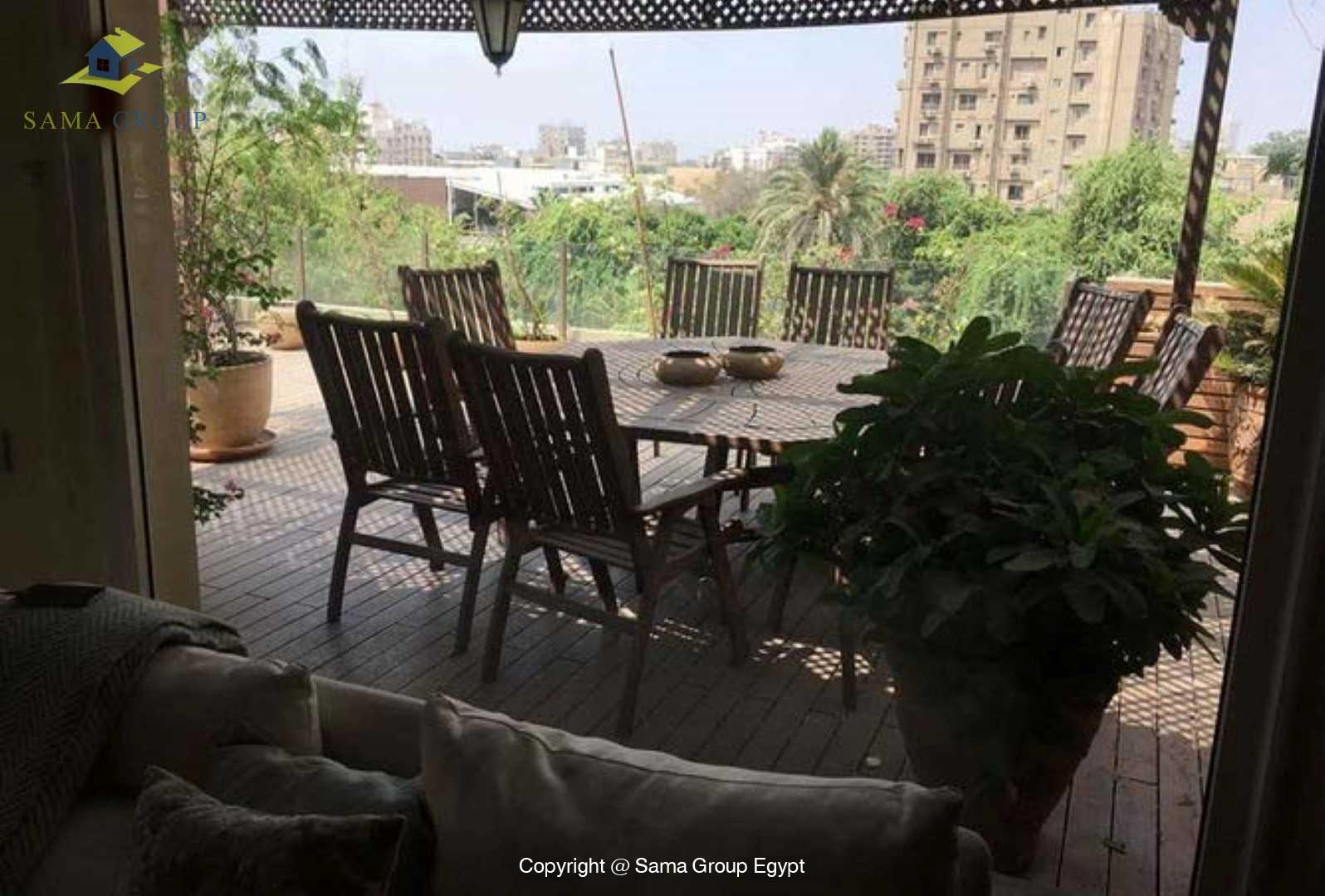 Penthouse For Rent In Maadi Degla,Modern Furnished,Penthouse NO #7