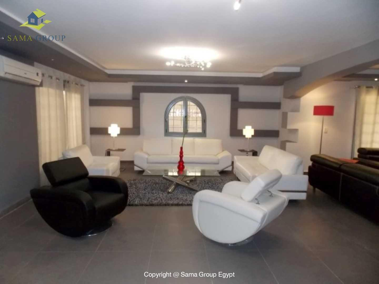 Ultra Modern Ground Floor For Rent In Maadi Sarayat,Furnished,Ground Floor NO #11