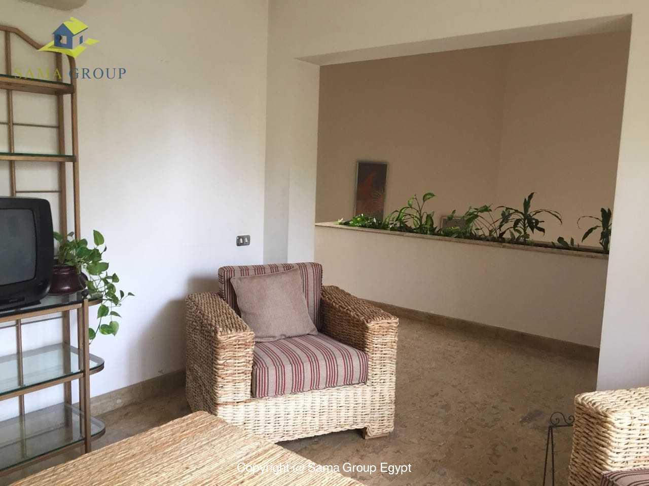 Ground Floor Duplex For Rent In Katameya Heights,Modern Furnished,Ground Floor NO #17