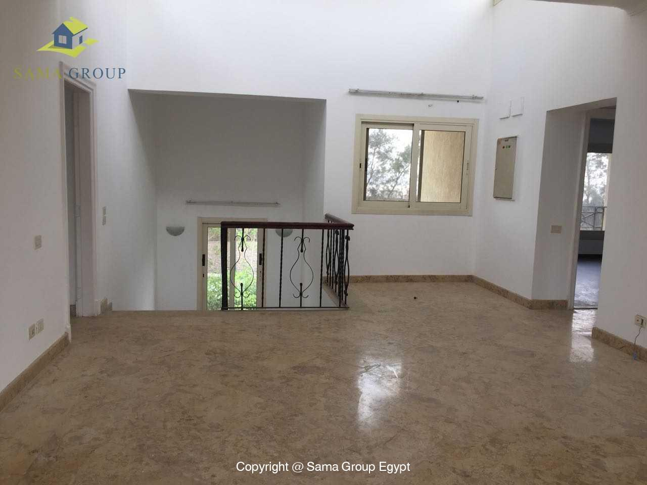 Ground Floor Duplex For Rent In Katameya Heights,Semi furnished,Ground Floor NO #2