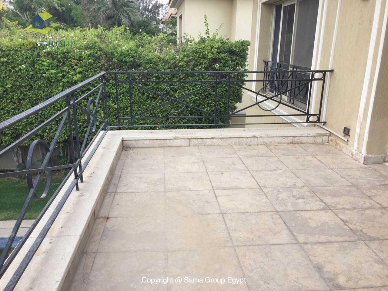 Ground Floor Duplex For Rent In Katameya Heights,Semi furnished,Ground Floor NO #20