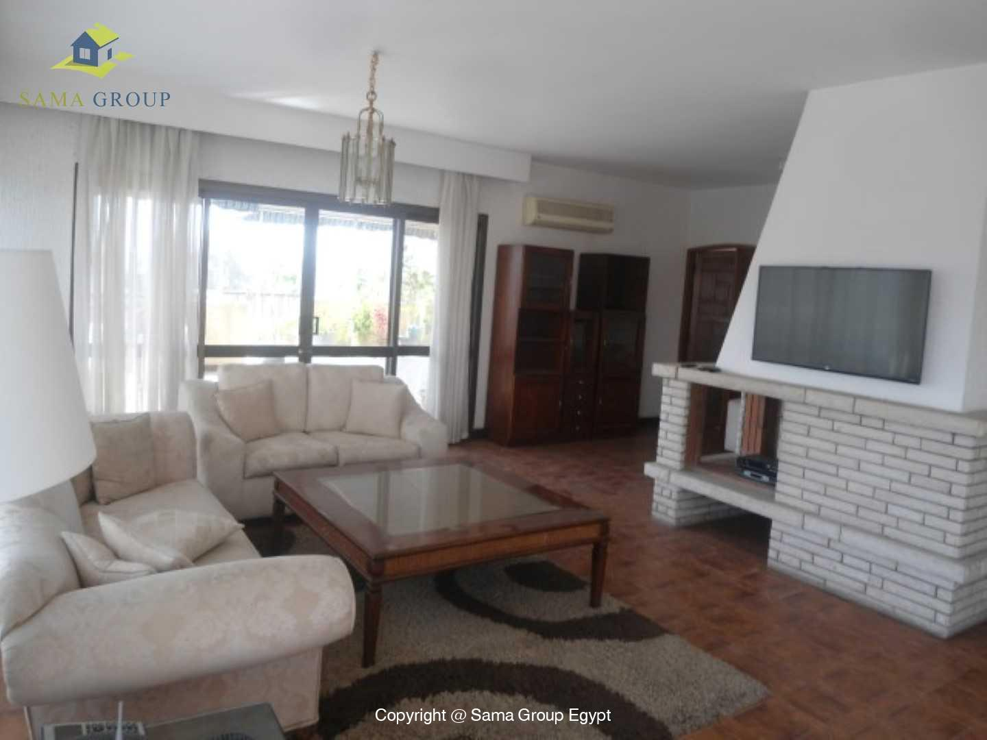 Penthouse For Rent In Maadi Degla Close To CAC,Furnished,Penthouse NO #7