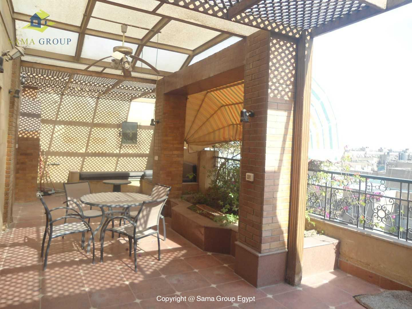 Penthouse For Rent In Maadi Degla Close To CAC,Modern Furnished,Penthouse NO #11