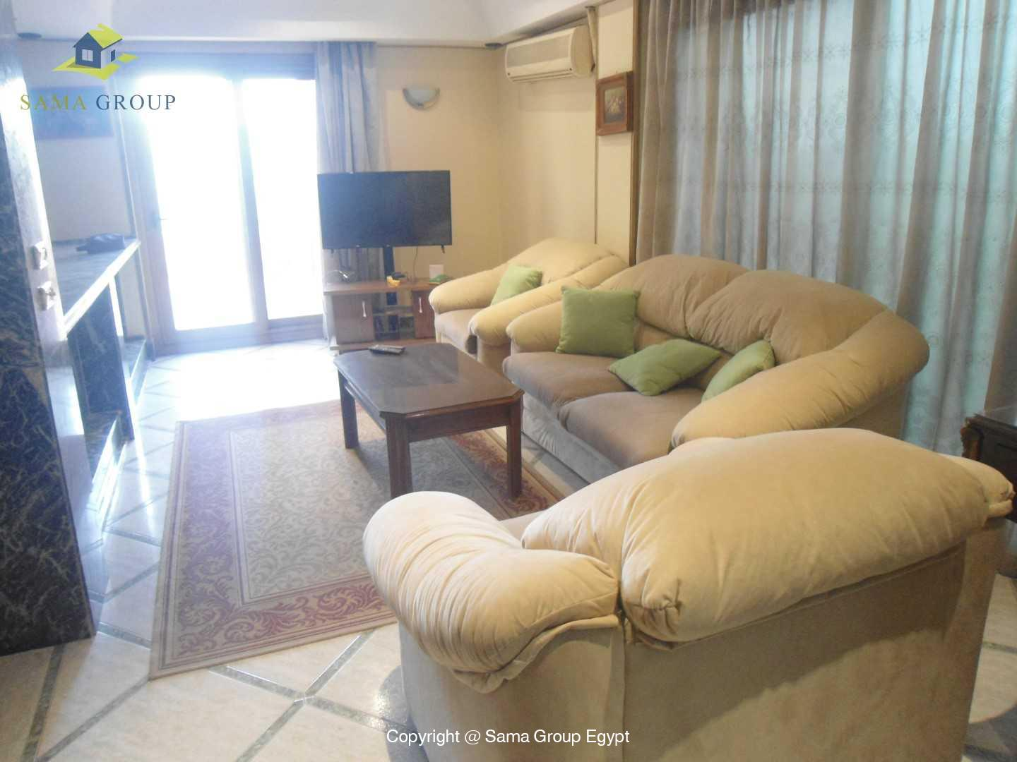 Penthouse For Rent In Maadi Degla Close To CAC,Modern Furnished,Penthouse NO #9