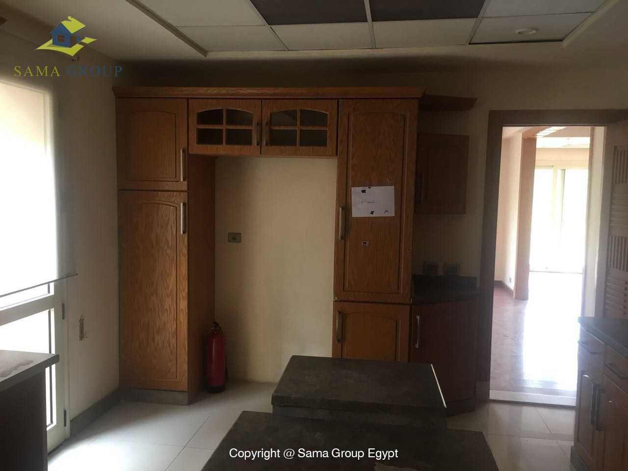 Ground Floor Duplex For Rent In Katameya Heights,Semi furnished,Ground Floor NO #3