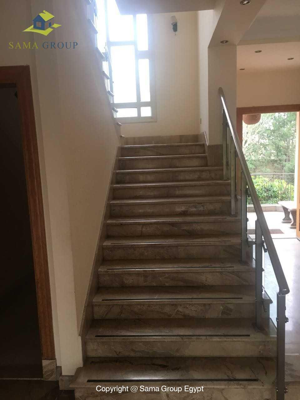Ground Floor Duplex For Rent In Katameya Heights,Semi furnished,Ground Floor NO #6