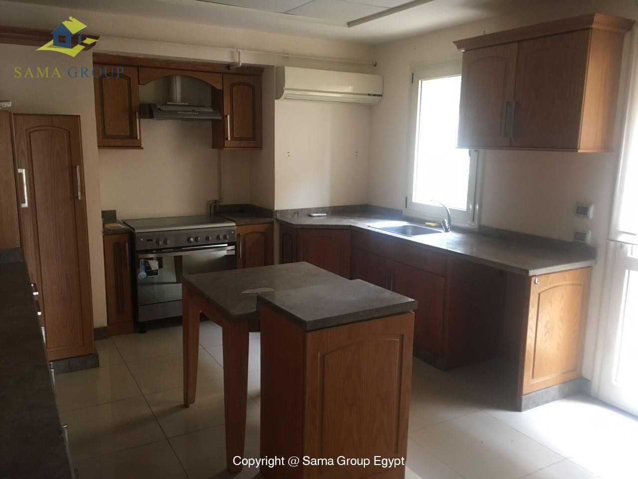 Ground Floor Duplex For Rent In Katameya Heights,Semi furnished,Ground Floor NO #9