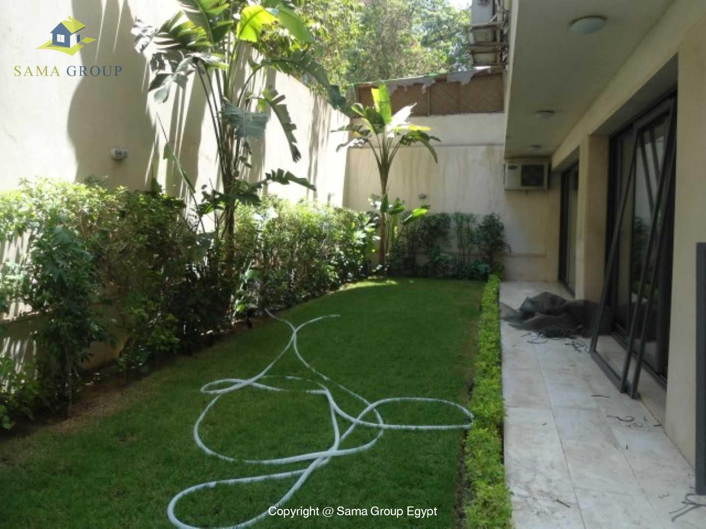 Ground Floor with Swimming Pool For Rent In Maadi,Modern Furnished,Ground Floor NO #8