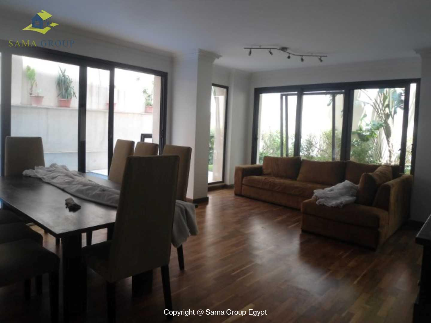 Ground Floor with Swimming Pool For Rent In Maadi,Modern Furnished,Ground Floor NO #6