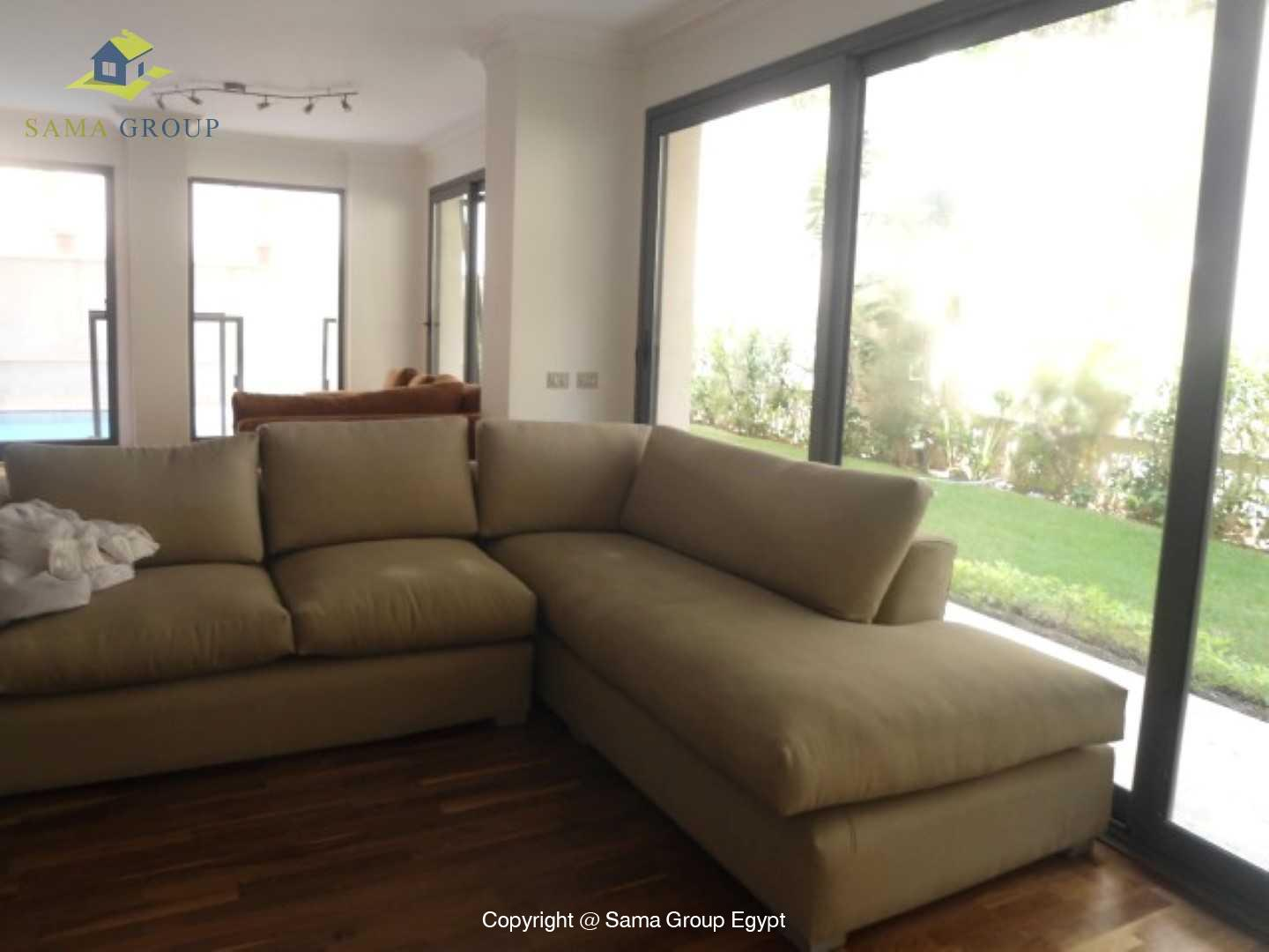Ground Floor with Swimming Pool For Rent In Maadi,Modern Furnished,Ground Floor NO #1