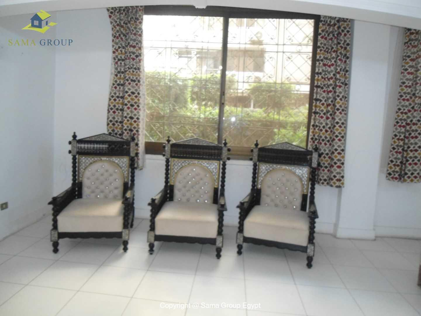 Ground Floor For Rent In Maadi,Furnished,Ground Floor NO #12