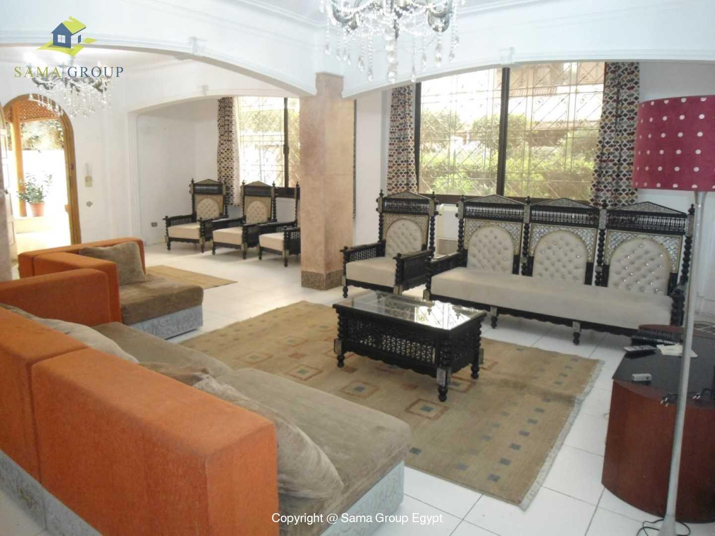 Ground Floor For Rent In Maadi,Furnished,Ground Floor NO #2