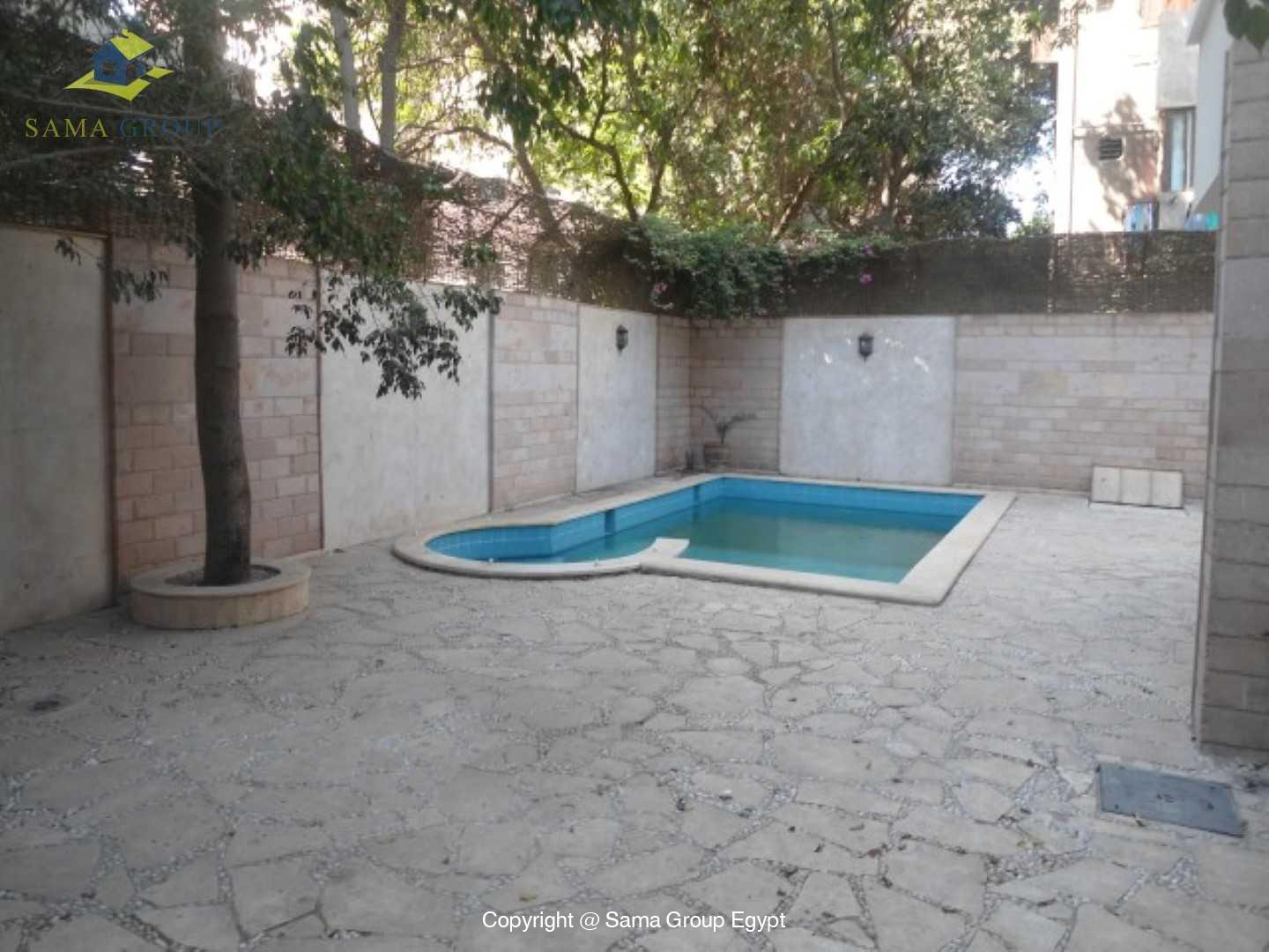 Villa with swimming pool For Rent In Maadi,Furnished,Villa NO #4