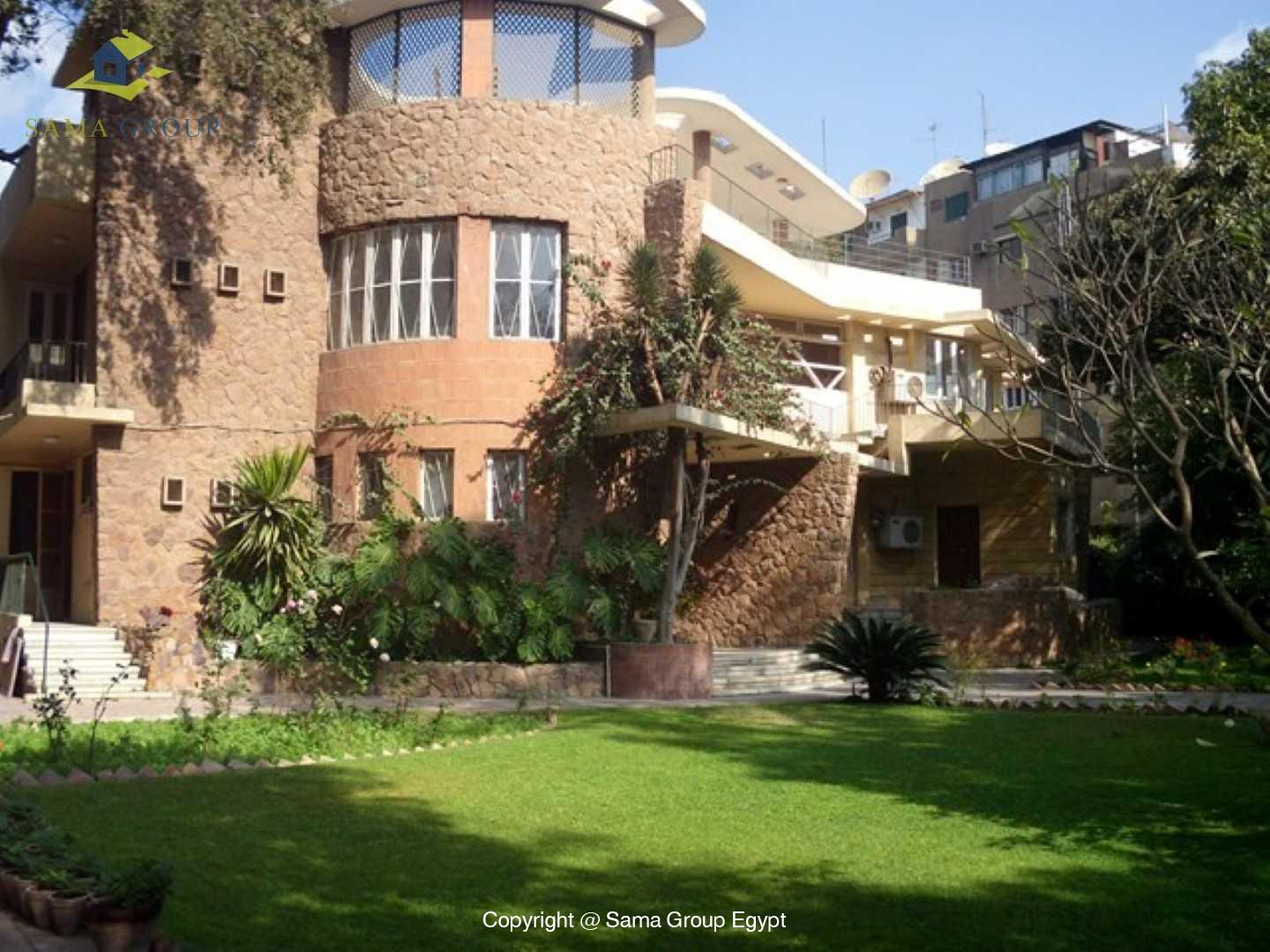 Villa For Rent In Maadi Degla,Semi furnished,Villa NO #11