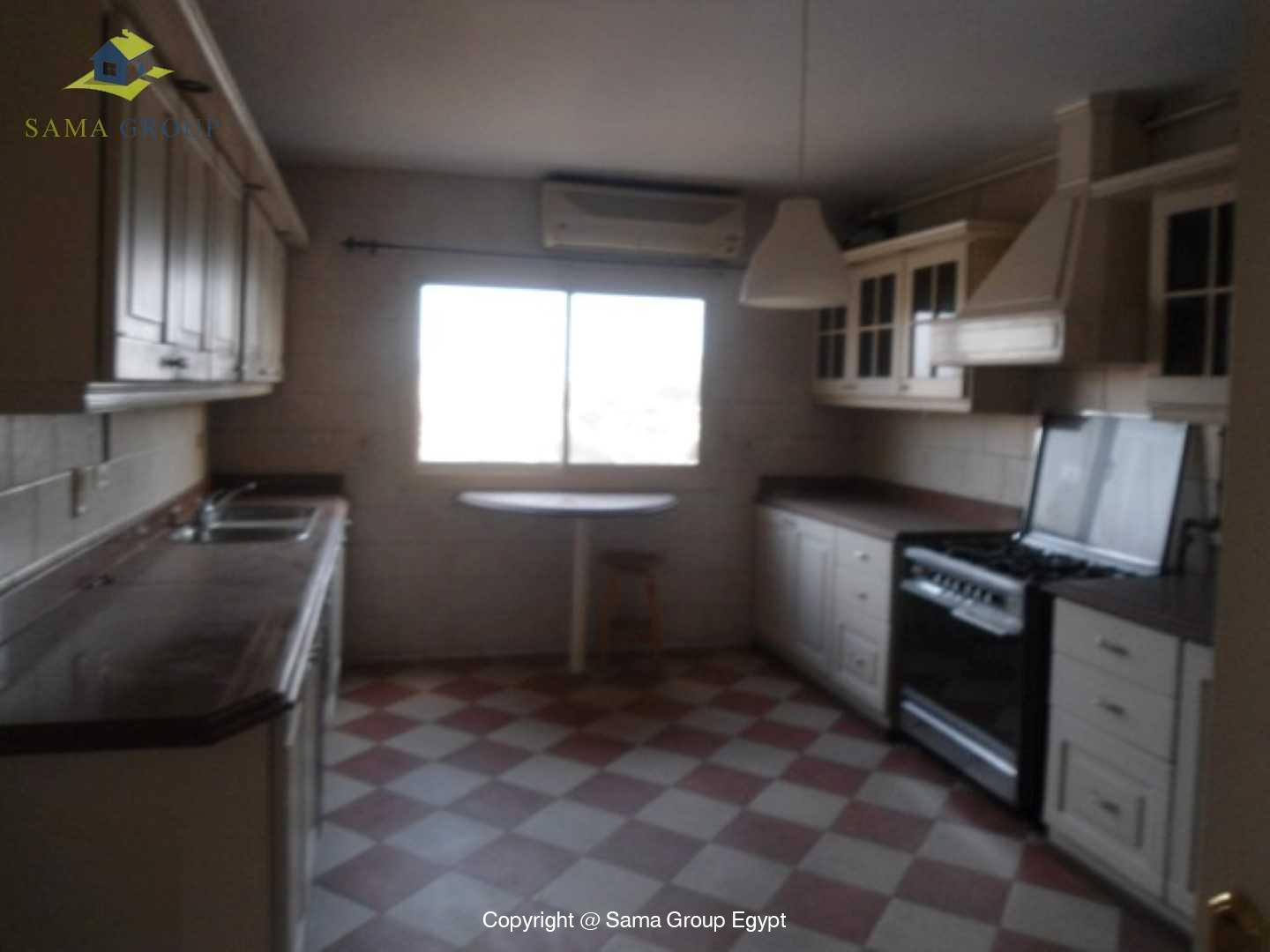 Roof top with Swimming Pool For Rent In Maadi,Semi furnished,Penthouse NO #10