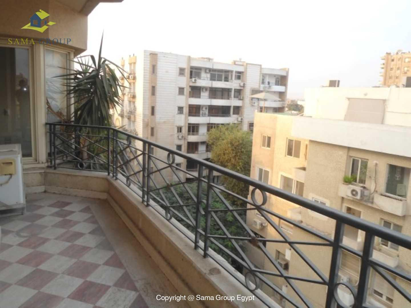 Roof top with Swimming Pool For Rent In Maadi,Semi furnished,Penthouse NO #7