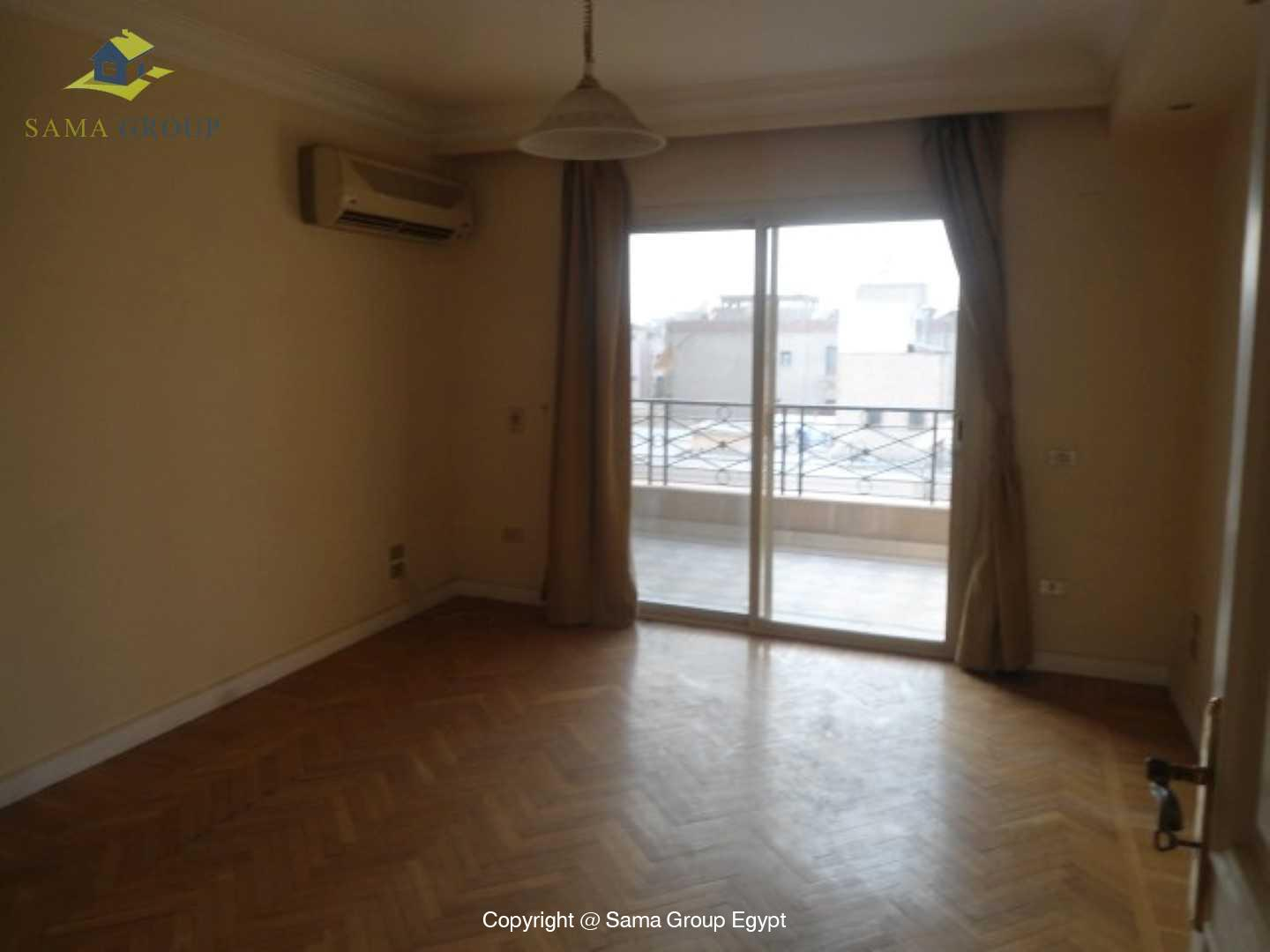 Roof top with Swimming Pool For Rent In Maadi,Semi furnished,Penthouse NO #6