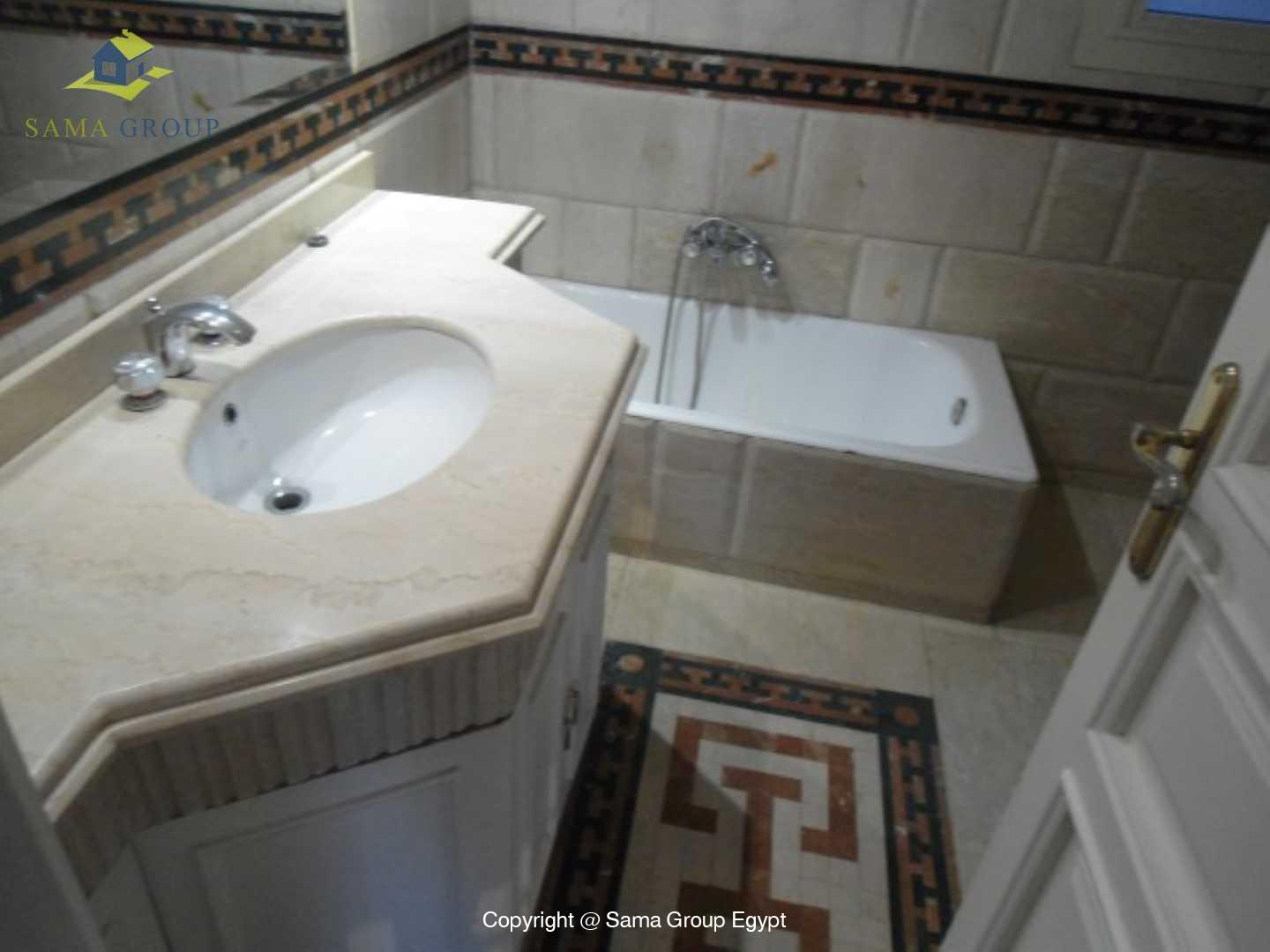 Roof top with Swimming Pool For Rent In Maadi,Semi furnished,Penthouse NO #4