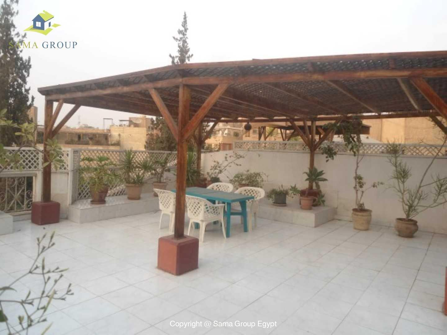 Fully Furnished Penthouse Roof top Duplex For Rent In Maadi